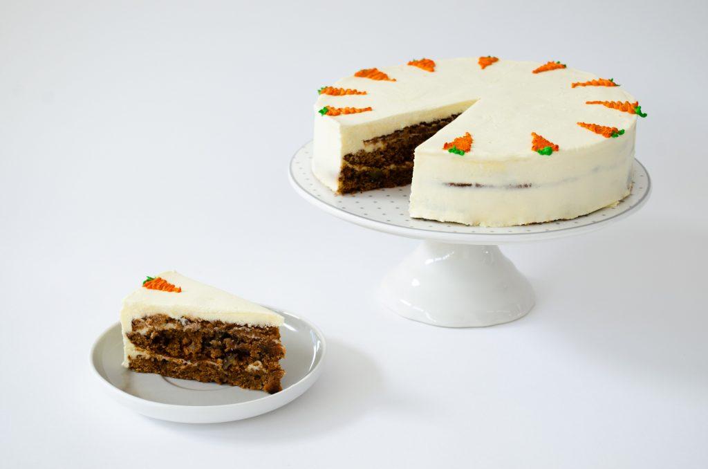 Торт Морковный с грецким орехом