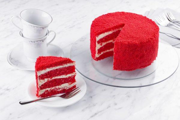 Десерт Красный вельвет фото 2