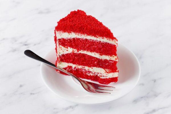 Десерт Красный вельвет
