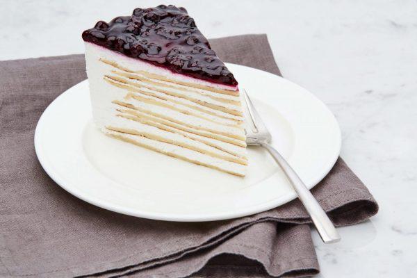 Торт Чернично-творожный