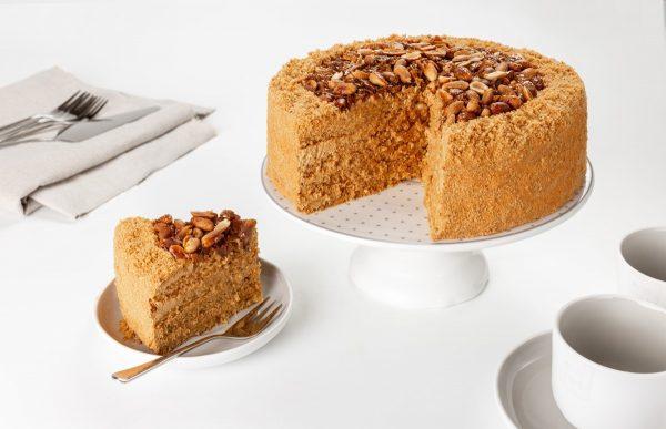 Десерт Коровка арахисовая фото 2