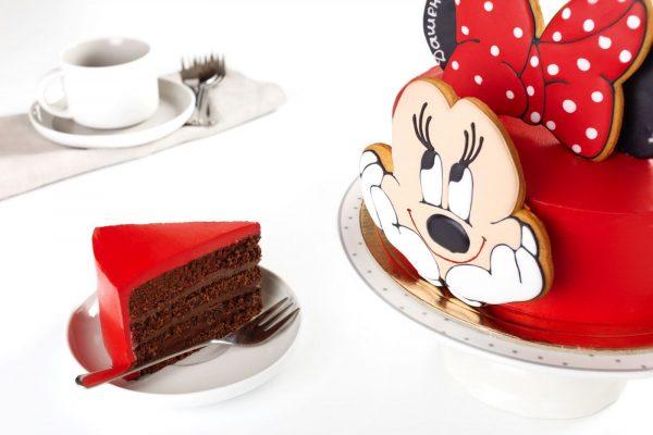Торт детский Минни Маус